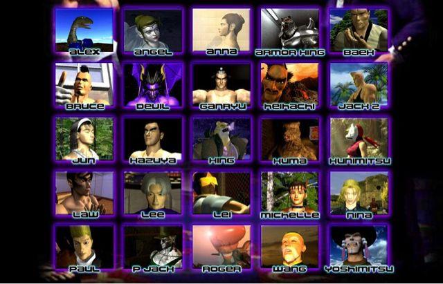 Tekken 2 Characters Kazuya Mishima